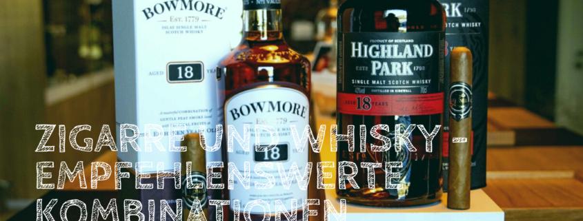 Banner Zigarren und Whisky