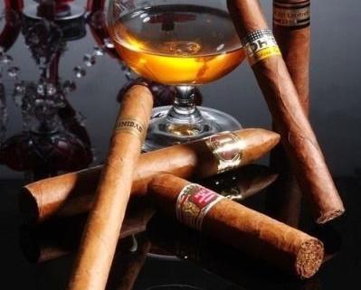 Zigarren dinner titel