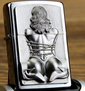 Tabakshop: Zippo Bondage Girl 3D