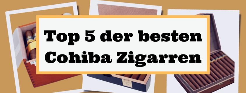 Top 5 der besten Cohiba Zigarren