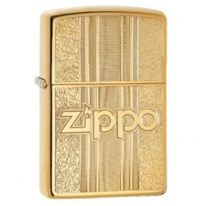 ZIPPO POLIERT AND PATTERN Tabak Shop
