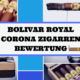 BOLIVAR ROYAL CORONA ZIGARREN BEWERTUNG